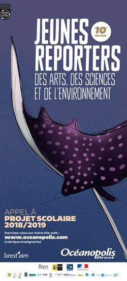 Appel à Projet Jeunes reporters des arts, des sciences et de l'environnement