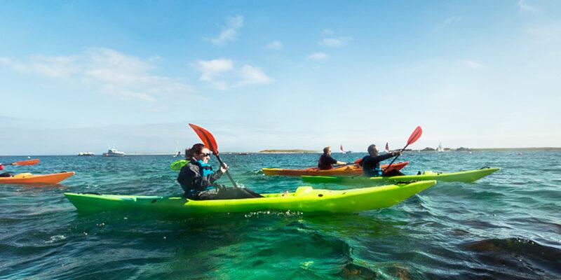 Kayak en rade de Brest © Yannick Derennes