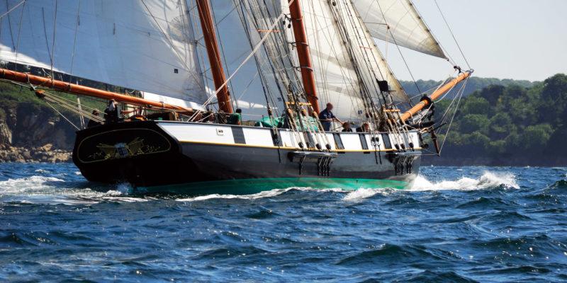 La Recouvrance, bateau ambassadeur de Brest Métropole © DR La Recouvrance