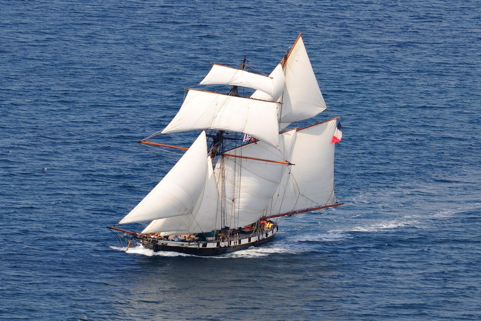 La Recouvrance, ambassador ship of Brest Métropole © DR La Recouvrance