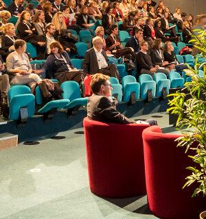 Conférence à l'auditorium d' Océanopolis © Emmanuel Berthier