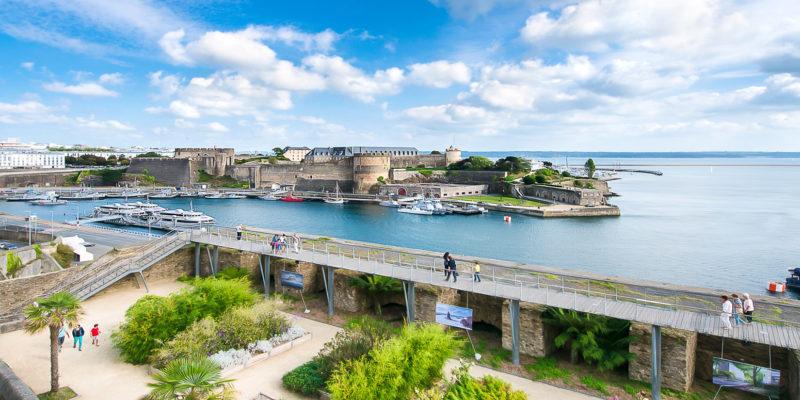 Le Jardin des Explorateurs de Brest © Office de tourisme de Brest métropole