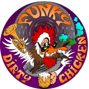 logo funky dirty chicken
