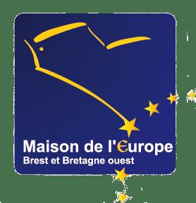 logo maison de l'europe brest
