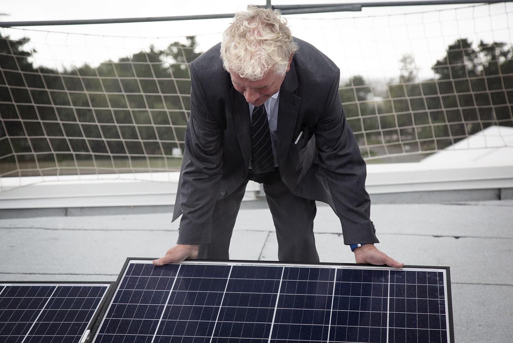 Transition énergétique - François Cuillandre - Président de Brest Métropole et Président de Brest'aim - © Océanopolis