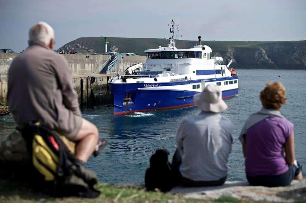 Port du Conquet, bateau de la Penn Ar Bed - © Penn Ar Bed