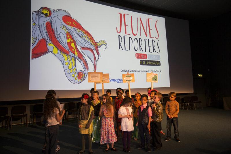 Jeunes Reporters des Arts et des Sciences à Océanopolis - © Océanopolis