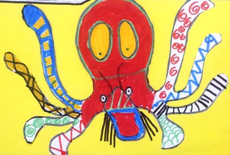 Avec quels animaux les crevettes peuvent-elles vivre en symbiose ? par l'école Quizac - Brest - CE1 - Classe de Julie Fabre - © Océanopolis