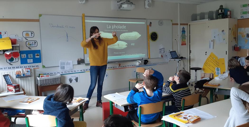 Ecole Keriscoualc'h - Locmaria Plouzané - CE1 Classe de Colette Cailleau - © Océanopolis